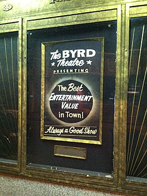 the byrd theater